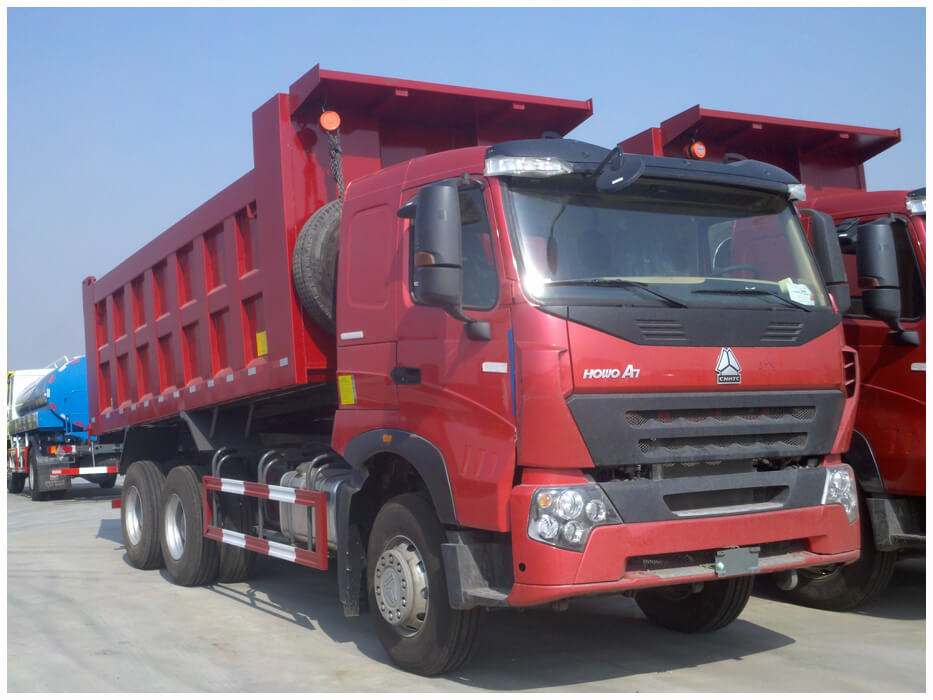 Sinotruk HOWO A7 6X4 camion benne