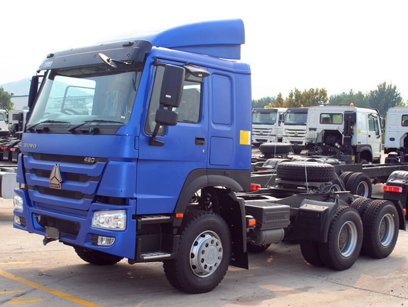 Sinotruk HOWO Camion tracteur 420HP
