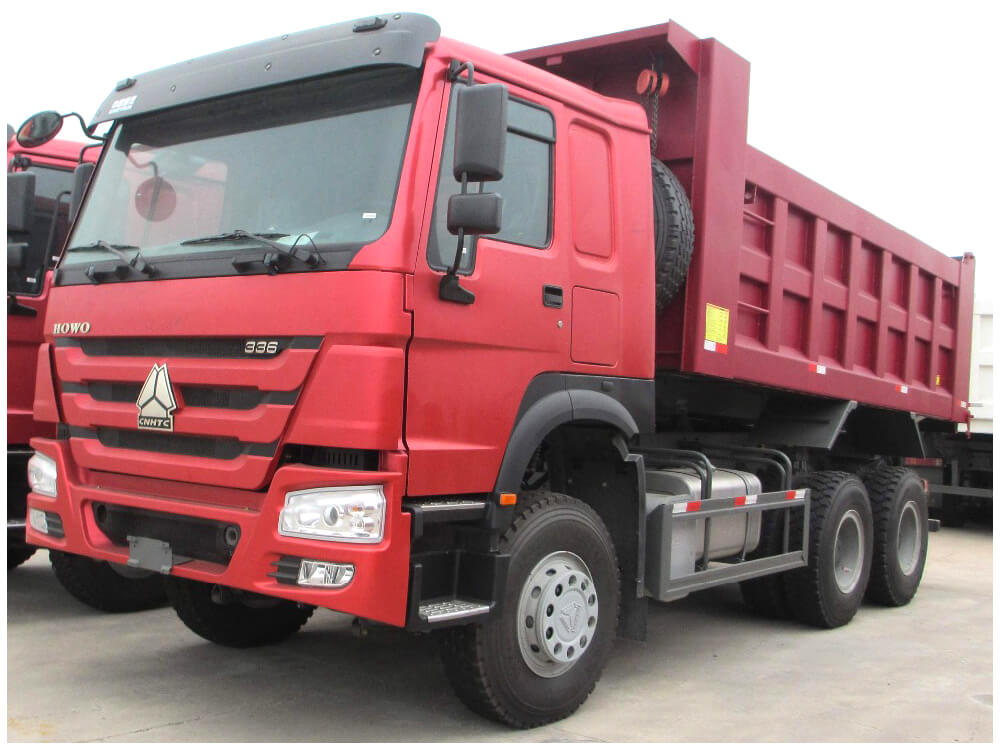 Sinotruk HOWO 336HP Camion benne