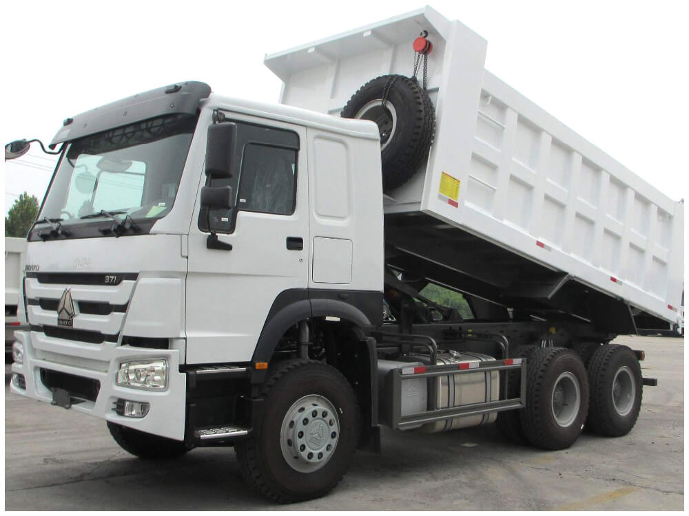 Sinotruk HOWO 371HP Camion benne